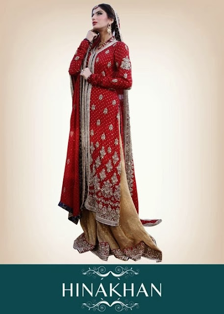 Bridal Dresses Stunning 2013-2014 | Beautiful Bridal Dresses Stunning 2013-2014 By Hina Khan
