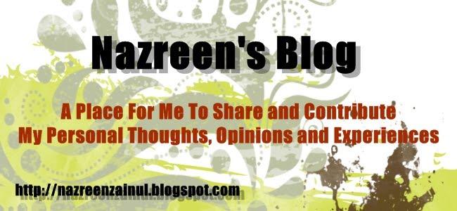 Nazreen's Blog
