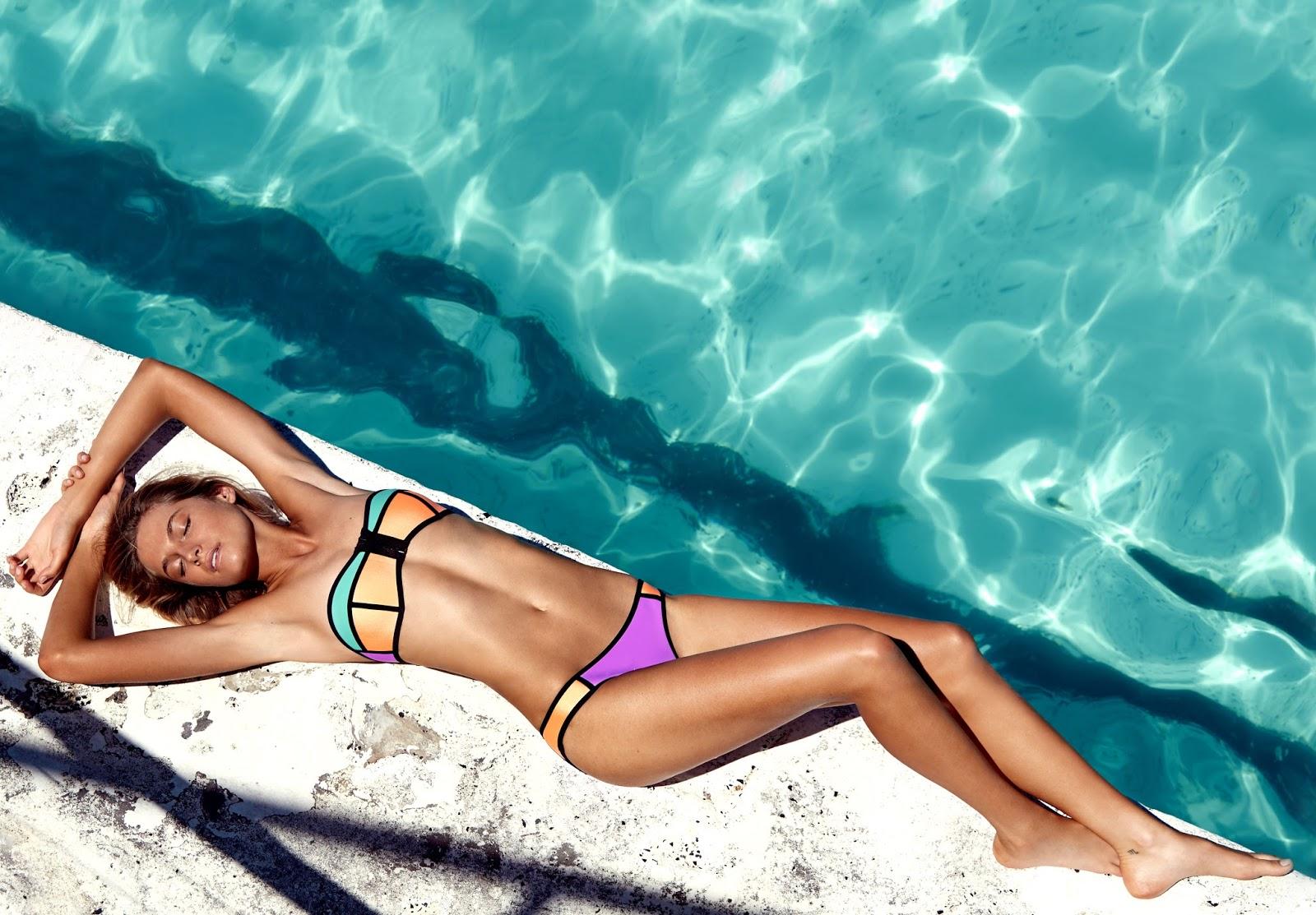 TRIANGL, bikinis de neopreno