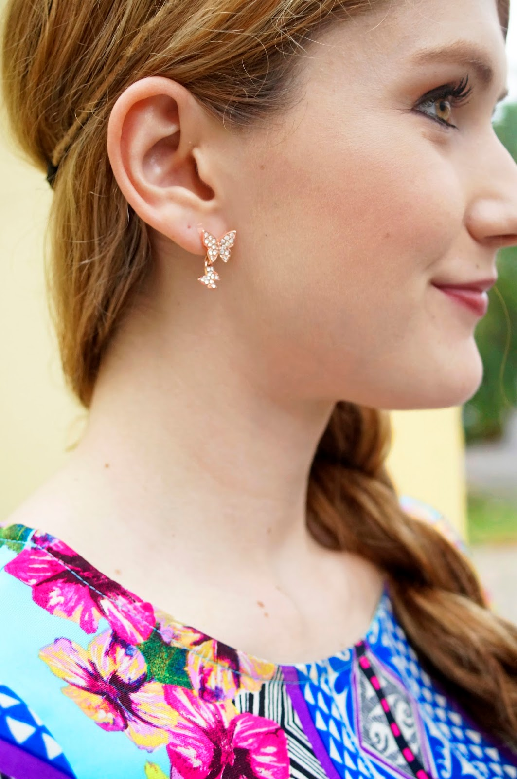 Pretty Butterfly Earrings from the Katy Perry collection at Claire's