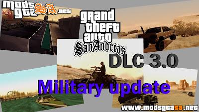 SA - DLC Militar V3.0 para GTA San Andreas