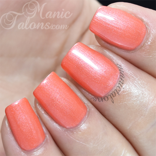 Madam Glam Carmine Pink Swatch