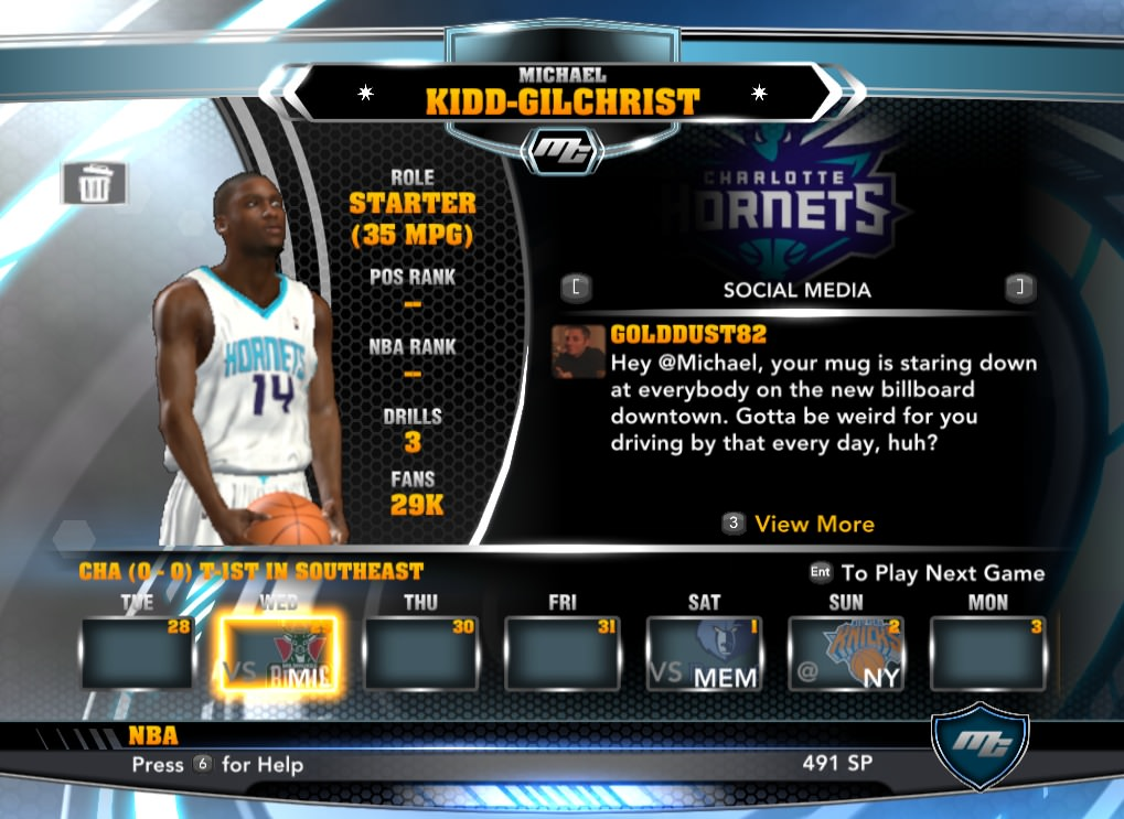 nba 2k14 Michael Kidd-Gilchrist mycareer patch download hoopsvilla