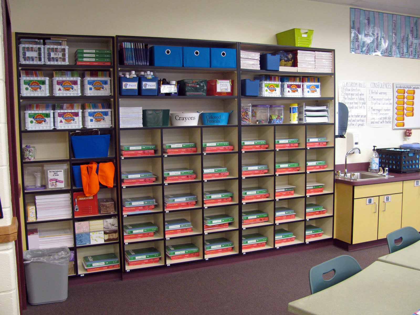 Classroom Setup Ideas ~ Controlling my chaos back to school and a classroom tour