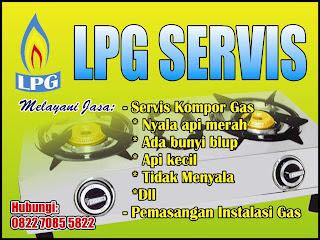 tempat servis kompor gas di Banjarmasin