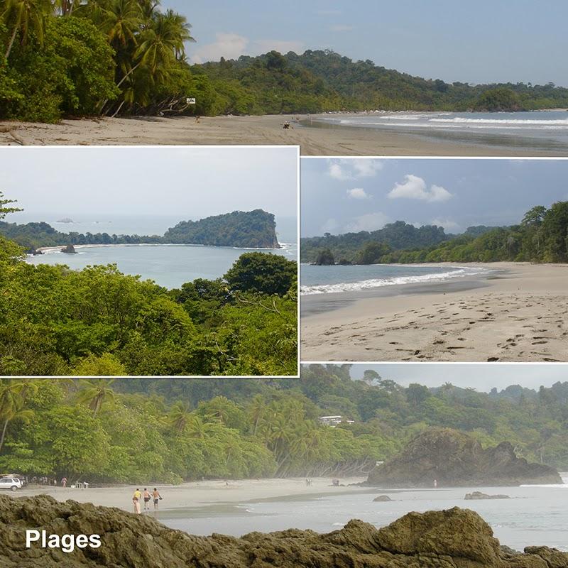 Plages à Manuel Antonio au Costa Rica