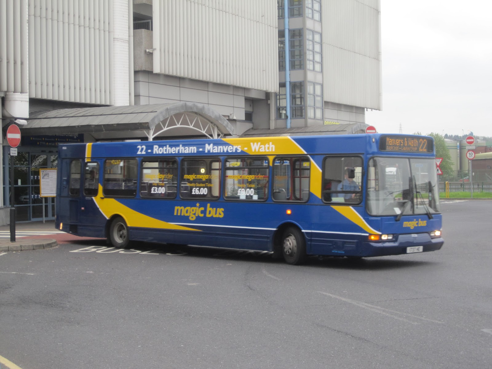 On Monday  Stagecoach Yorkshires Rotherham Rawmarsh Depot Launched Its Magic Bus Operation In Comperition With First South Yorkshire On Route 22