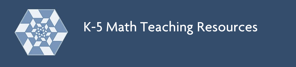 http://www.k-5mathteachingresources.com/