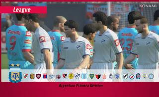 Modo Liga: Campeonato Argentino.