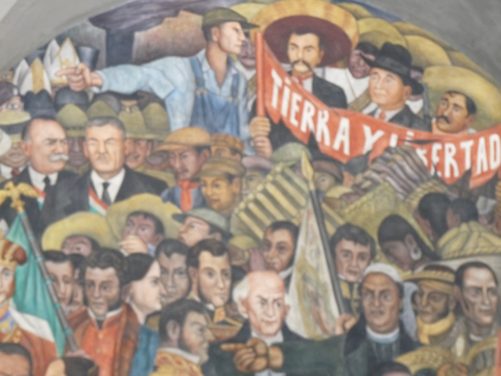 In the Footsteps of Diego Rivera: March 2012