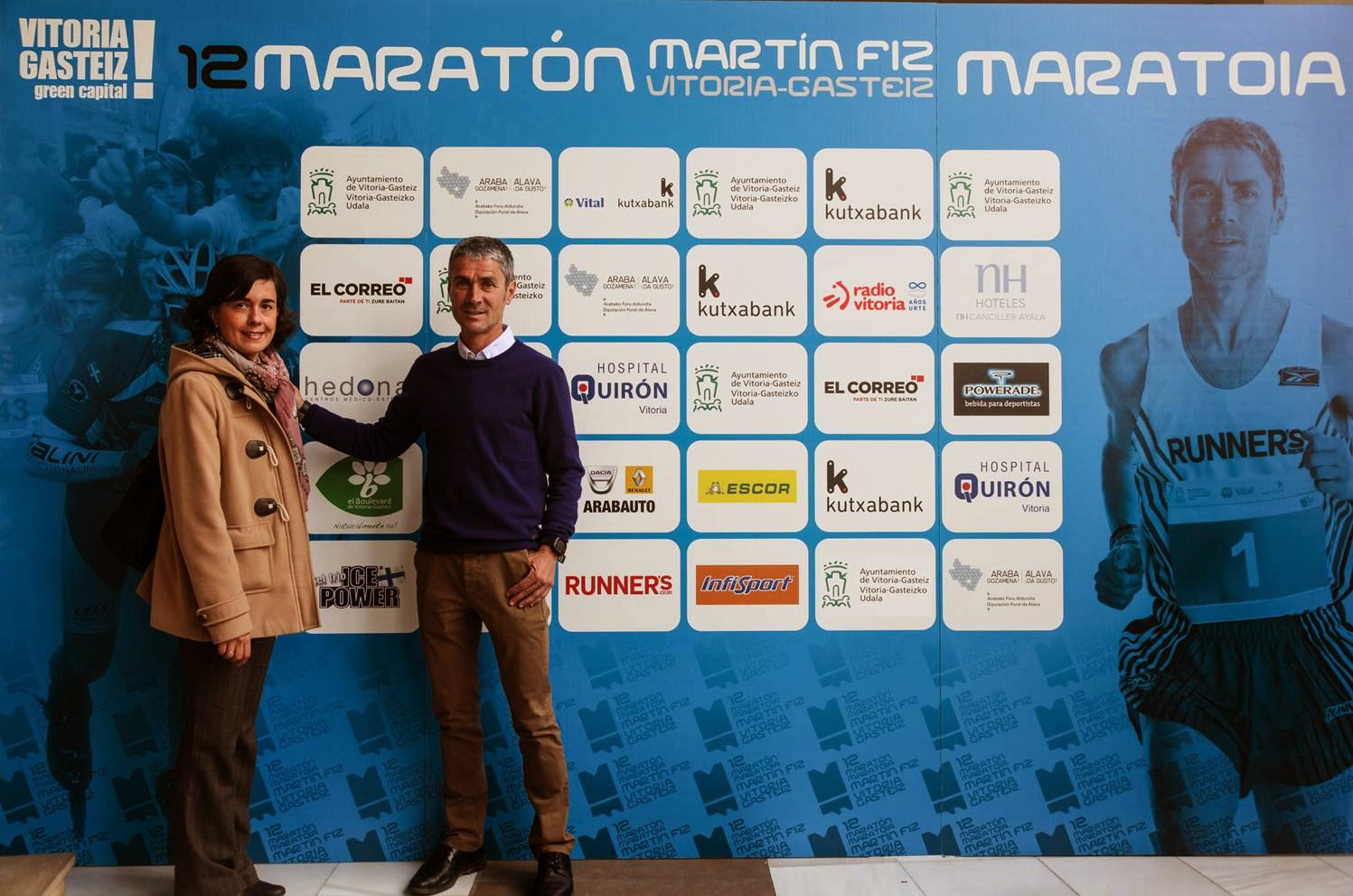 El Boulevard de Vitoria y la Maratón Martín Fiz