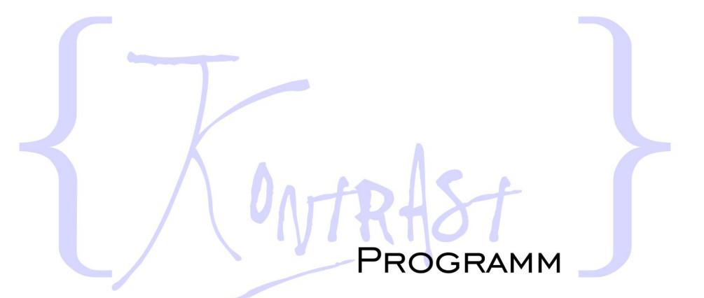 Kontrastprogramm