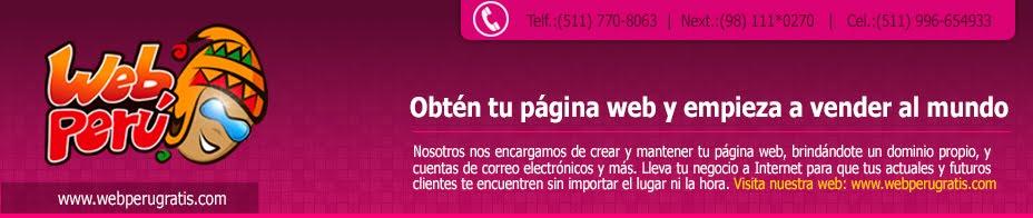 Diseño de página web - Agencia Interactiva - webperugratis.com
