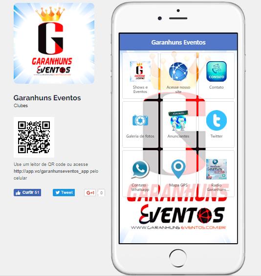 DOWNLOAD APP GARANHUNS EVENTOS