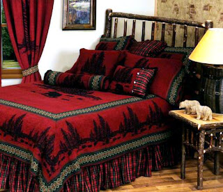 red-cabin-bedding
