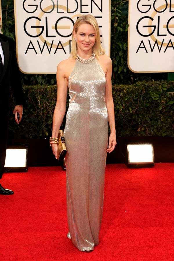 2014 Golden Globes Naomi Watts in Tom Ford