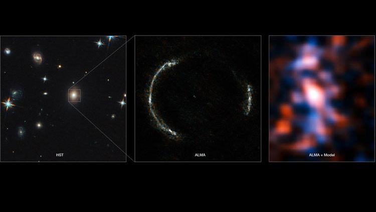 Resultado de imagen de Captan estructura más allá del borde del Universo