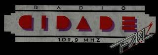 ouvir a Rádio Cidade FM 102,9 Três Lagoas MS