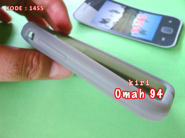 Silikon Soft Case Rubber Samsung Galaxy Young GT S5360 Abu-Abu (Grey