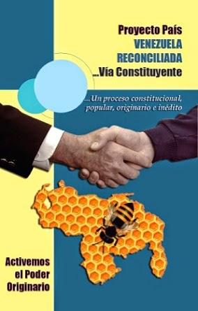 Libro Resumen del Proyecto País Venezuela Reconciliada Vía Constituyente