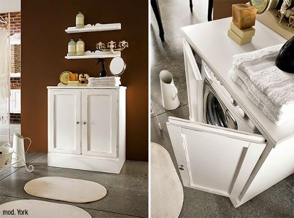 Consigli per la casa e l 39 arredamento mobile copri for Coprilavatrice in legno