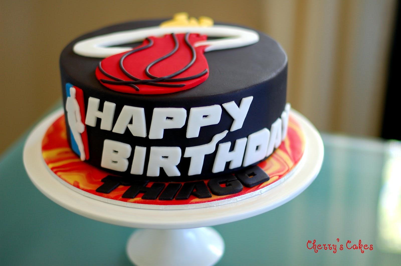 miami birthday cake