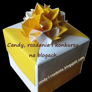Blog z rozdaniami, candy, konkursami