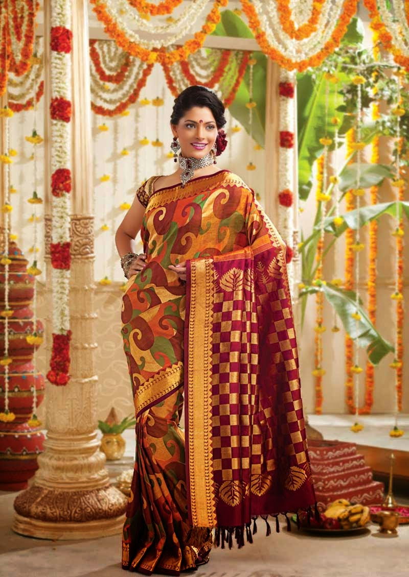 South Indian Wedding Sarees Collection