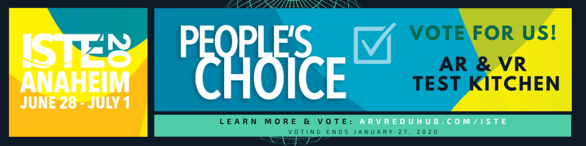 ISTE People's Choice Banner