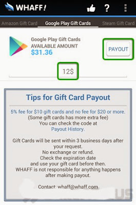 Menarikan Dollar dari Whaff ke Google Wallet