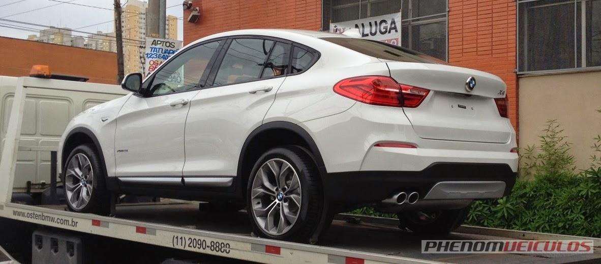 BMW X4 XDrive28i 2015: fotos, preço e informações
