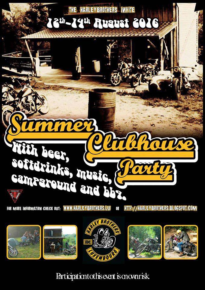 Summer Clubhouse Party