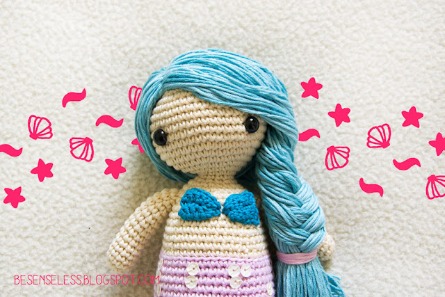 Amigurumi Crochet Mermaid : Airali design. Where is the Wonderland? Crochet, knit and ...