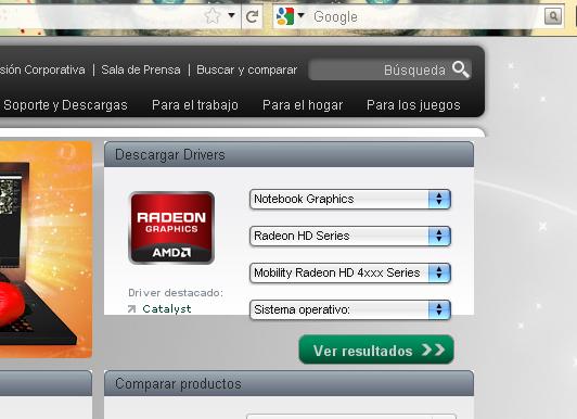 Ati rs880m video Driver Windows xp