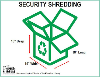 Security Shredding Box Dimensions