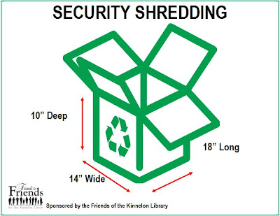 Kinnelon Security Shredding: May 5, 2012