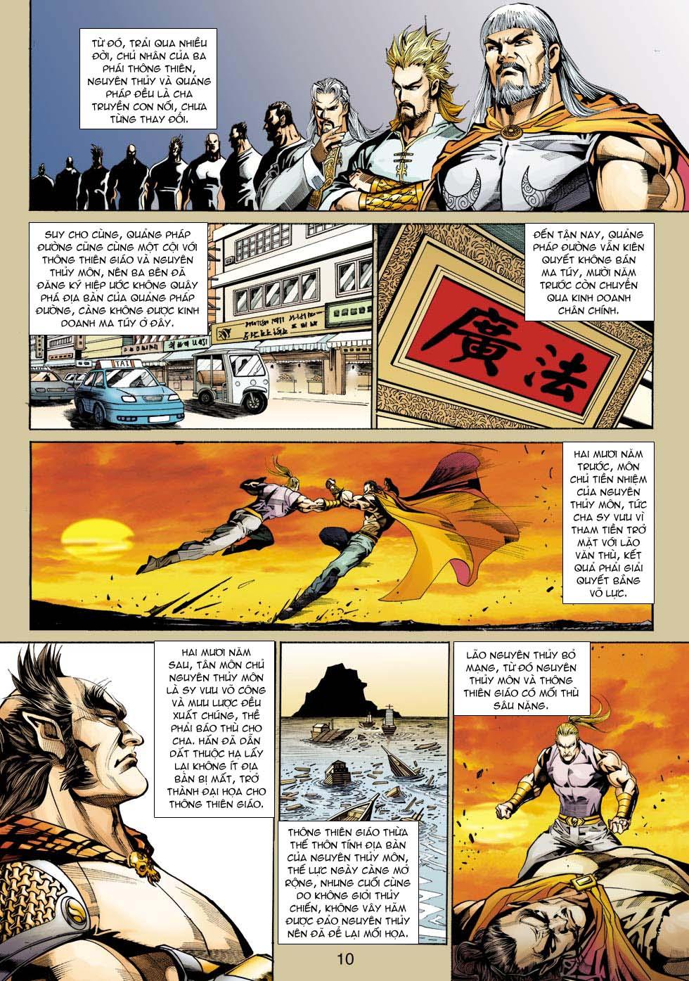 Tân Tác Long Hổ Môn chap 343 - Trang 10