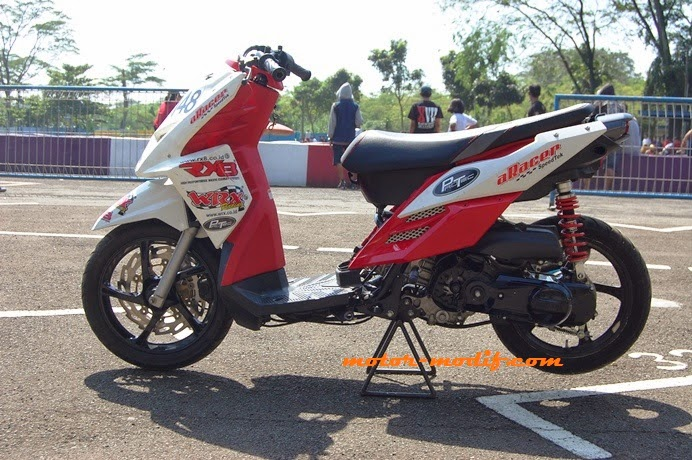 Galeri Foto Modif Motor Yamaha X Ride 2013 Spek Balapan