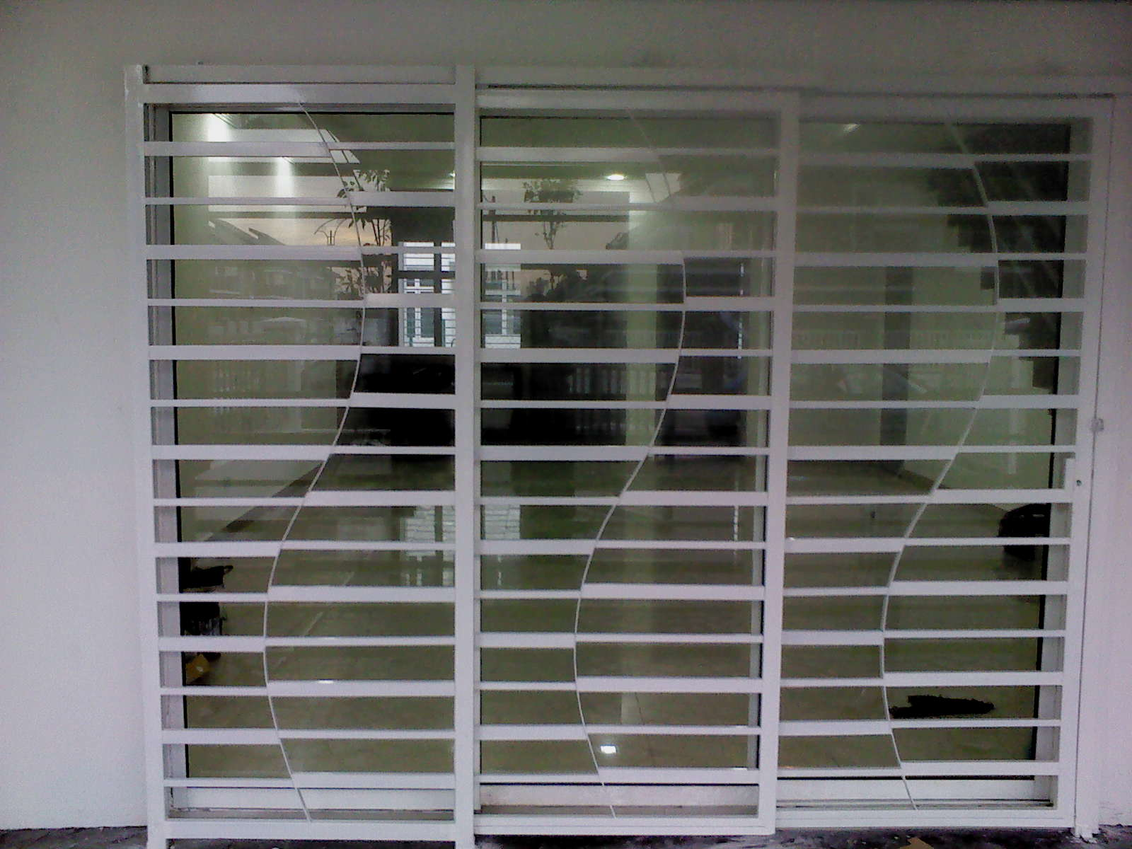 Utama Iron Works Sliding Door Design