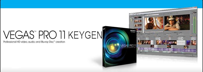 Sony Vegas Pro 11 keygen