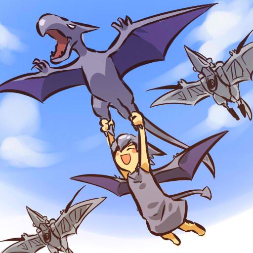 Mucho anime y otaku gijinka - Ptera pokemon y ...
