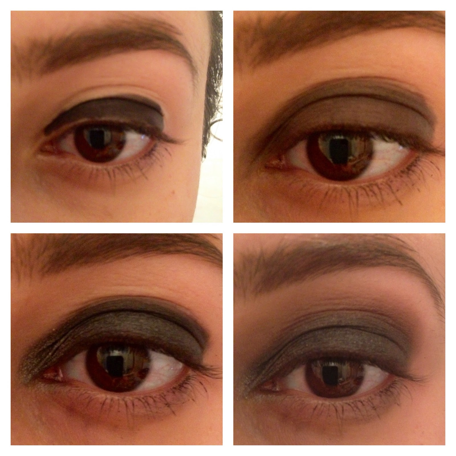 Top Il mio makeup con te! : Tutorial: Semplice Smokey Eye Nero YN01