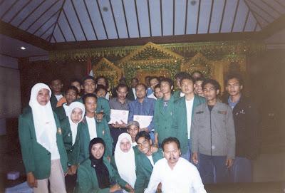 Foto bersama Muhammad Nazar (Wakil Gubernur Aceh) 2007-2012.