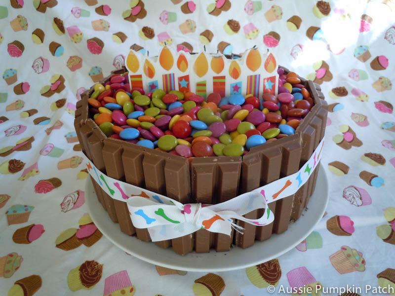 Aussie Pumpkin Patch Birthday Cake
