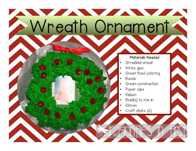 Freebielicious Wreath Ornament  Easy Peasy Parent Gift