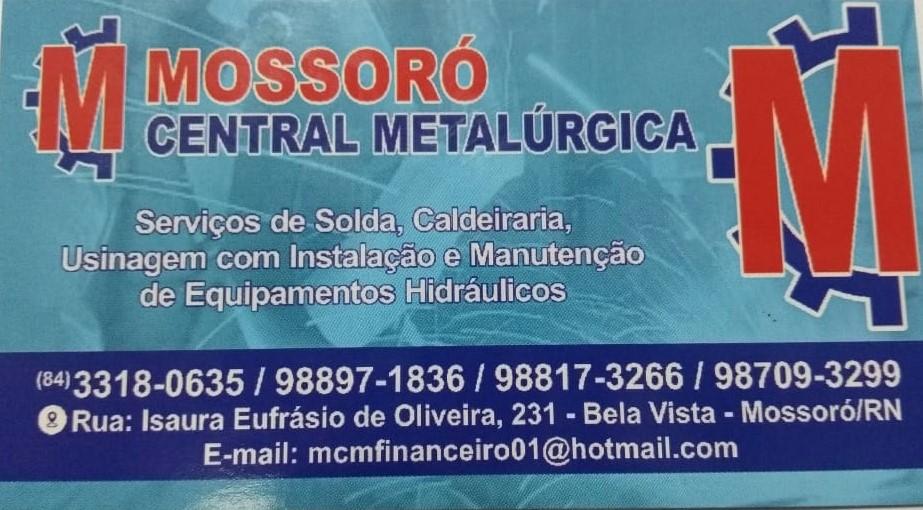 MOSSORÓ CENTRAL METALÚRGICA