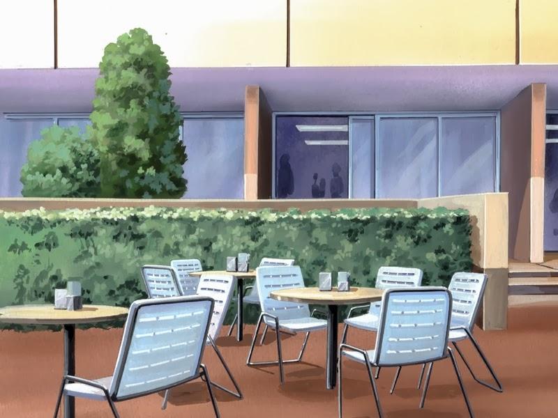 anime landscape  restaurant  anime background