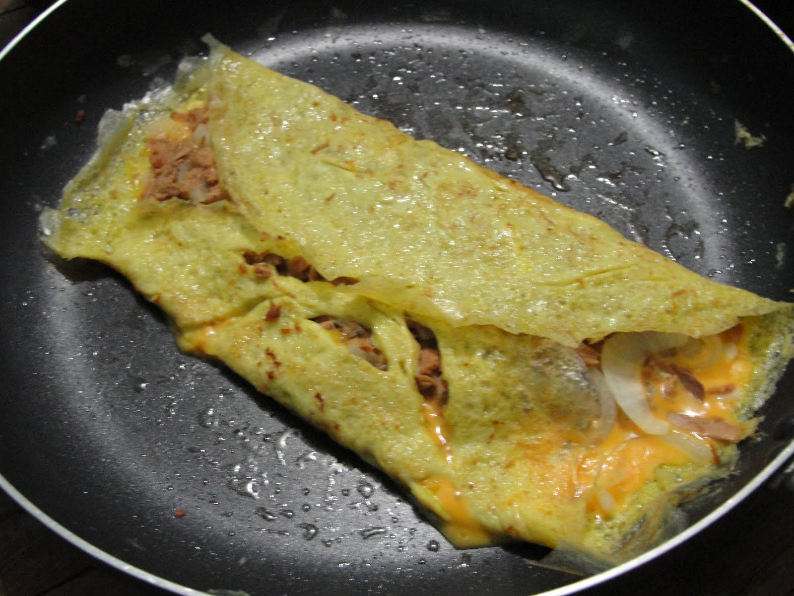 how to cook tuna omelet