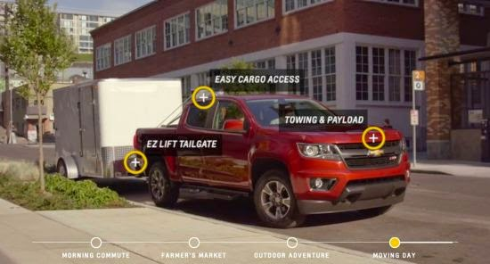 "Customize Your Chevy Truck with the ""Digital Colorado Experience"""