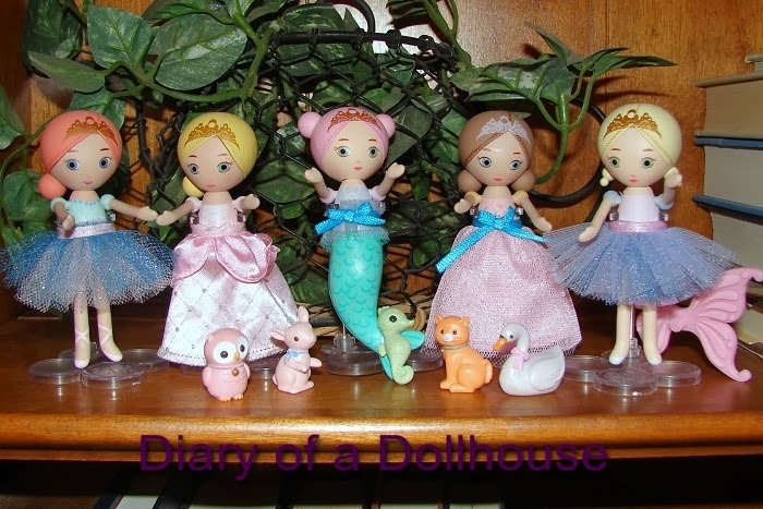 Mini Mooshka Fairy Dolls